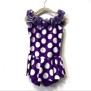 Weissman King of My Heart Polka Dot Dance Costume